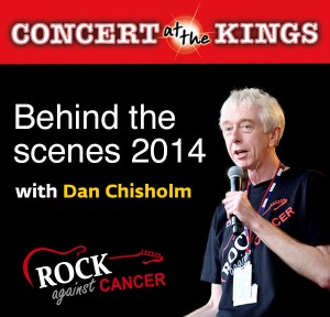 Behind the scenes with Dan Chisholm